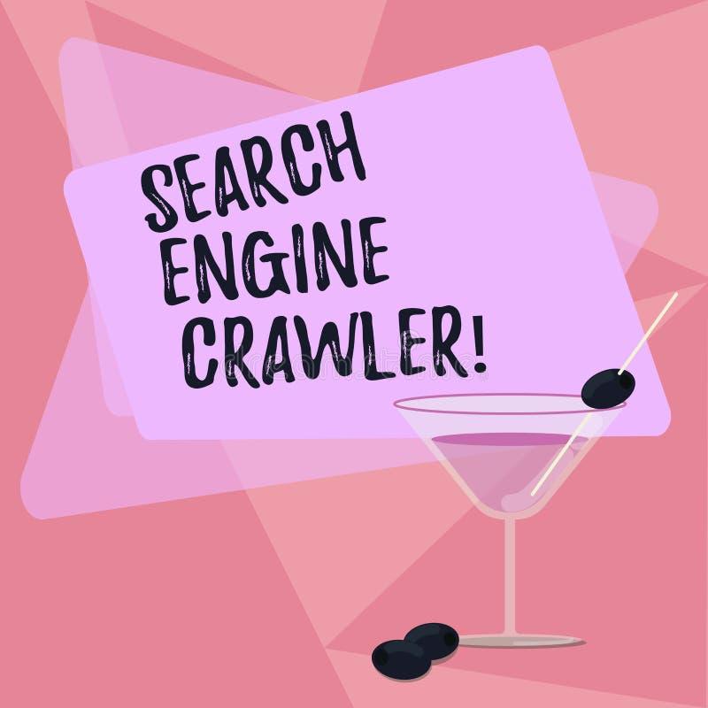 手写文本文字搜索引擎履带牵引装置 概念意思节目或浏览被填装的网的自动化的剧本 皇族释放例证