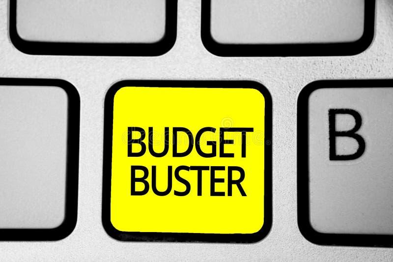 手写文本文字预算钉头切断机 意味无忧无虑的消费的概念讲价过度花费多余的购买 库存照片