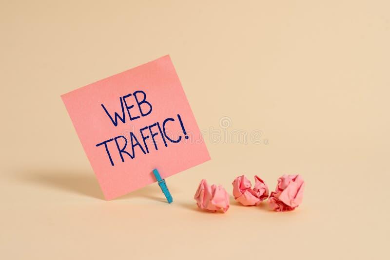 手写文本网交通 概念访客送和接受的意思相当数量数据对网站平原便条纸 库存照片
