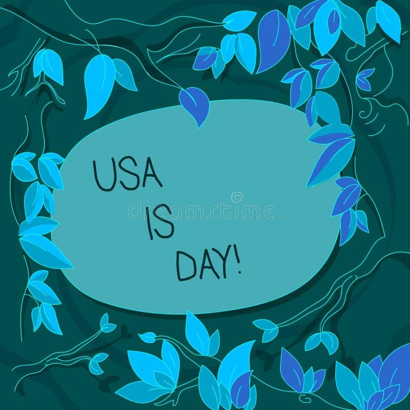 手写文本美国阵亡将士纪念日 记住死,当服务树时的陈列的概念意思联邦假日 向量例证