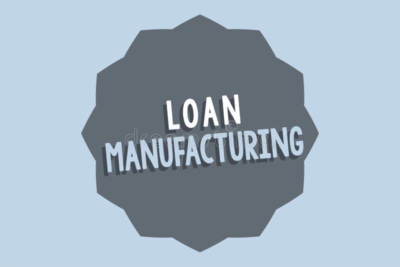 手写文本贷款制造业 概念意思检查借户的合格的银行过程 皇族释放例证