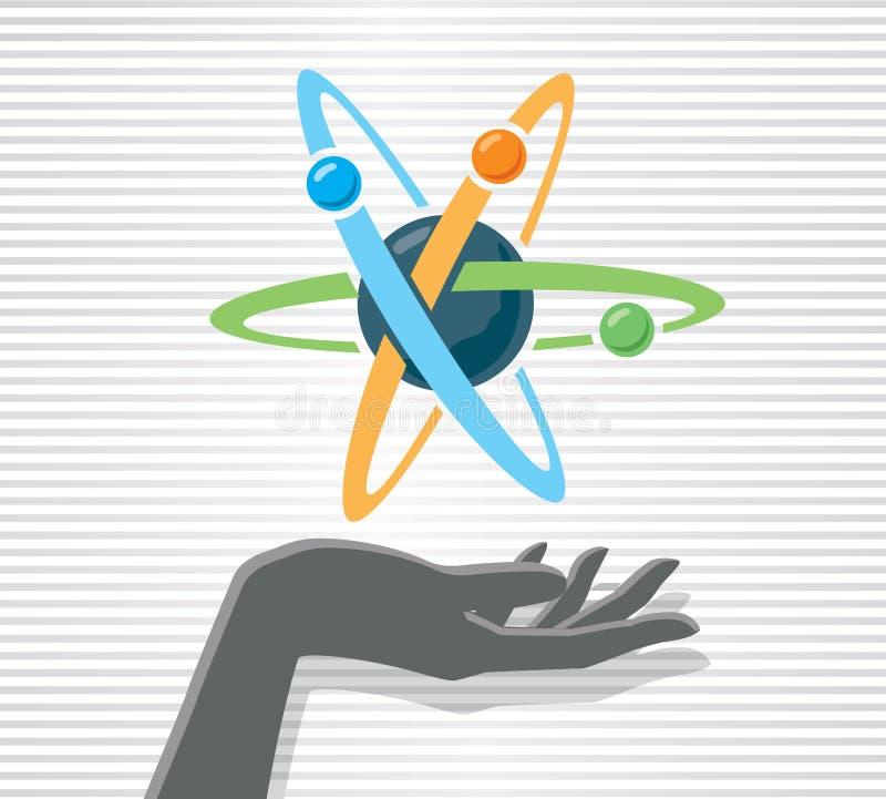 Download 手和原子 向量例证. 插画 包括有 氢核, 中坚力量, 次幂, 中子, 女性, 藏品, 概念, 电子, 能源 - 30330008