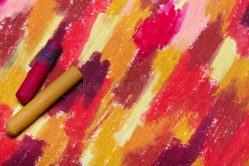 手图画照片  背景的五颜六色的纹理 库存例证
