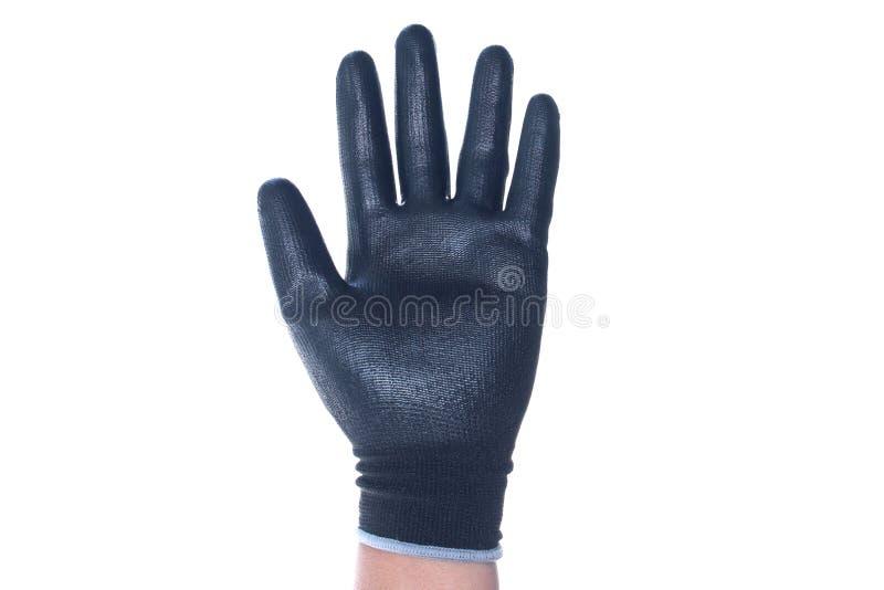 手套与在隔绝 库存图片