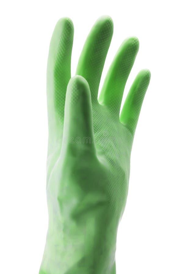 手套橡胶 免版税库存照片