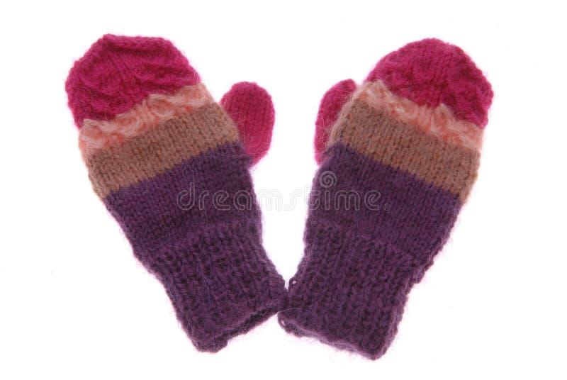 手套羊毛 库存照片