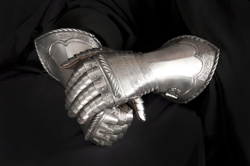 手套骑士 免版税库存照片