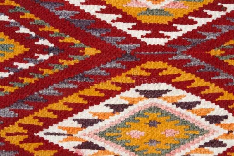 手工制造地毯 免版税库存照片