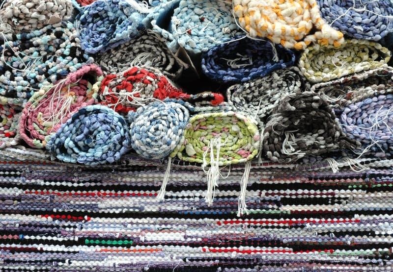 手工制造的地毯 免版税库存照片