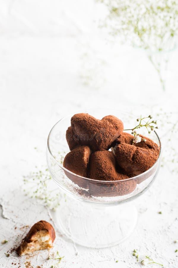 手工制造糖果提拉米苏 库存图片