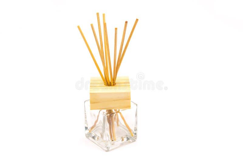 手工制造芦苇清凉剂 库存图片