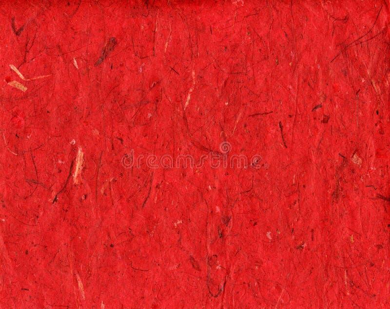 手工纸红色 库存照片