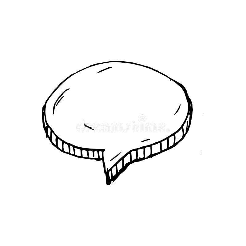 手拉的云彩乱画象 手拉的黑剪影 标志symbo 皇族释放例证