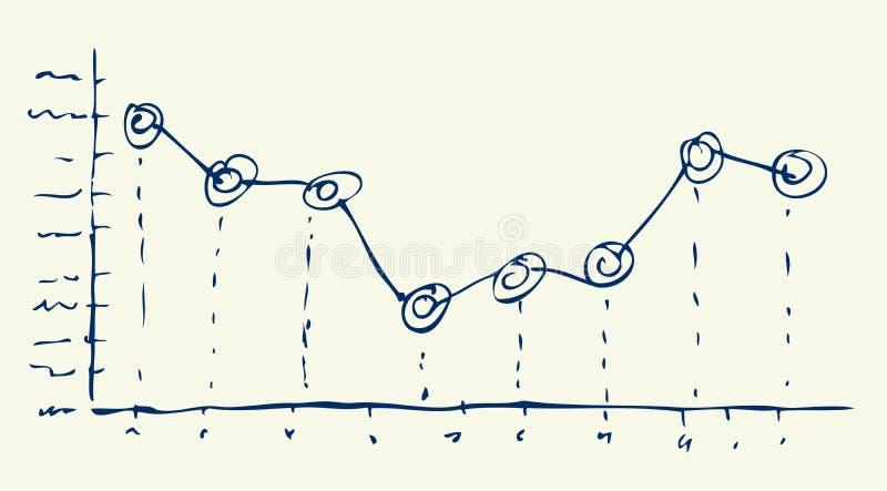 手拉的向量图形 向量例证