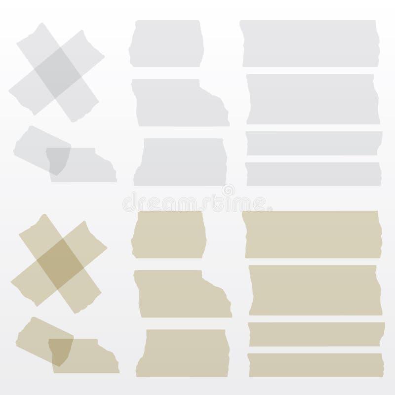 手拉的形状和线-真正的轮廓色_ 免版税库存照片