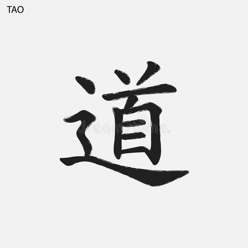 手拉的象形文字 向量例证