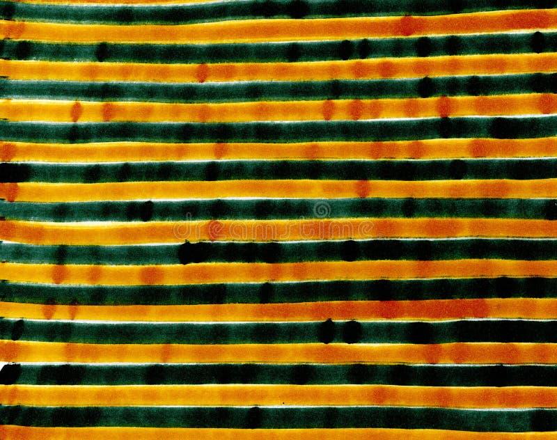 手拉的黄色和灰色条纹背景 库存照片