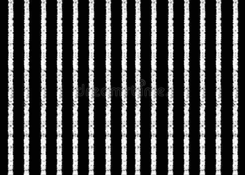 手拉,抽象黑白照片被创造几何形状背景 库存例证