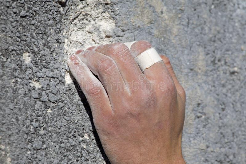 手指力量 免版税库存照片