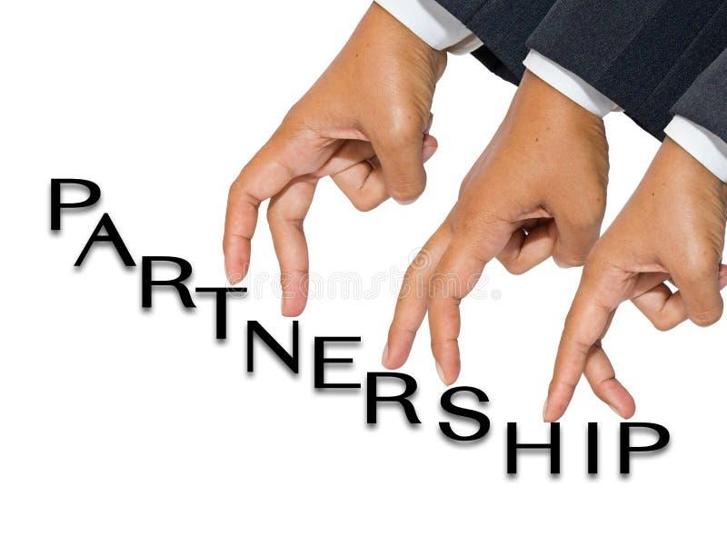 手指合伙企业 免版税库存图片