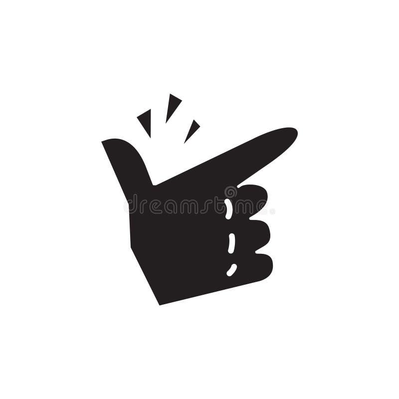 手指攫取的象,传染媒介例证 皇族释放例证