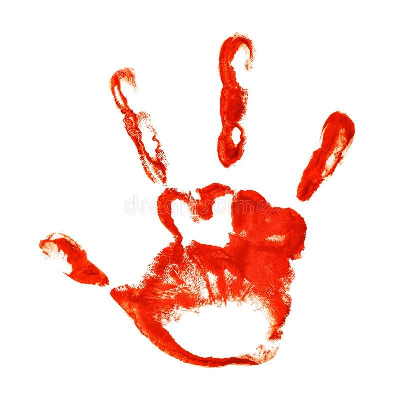 手指的现有量打印鬼三 免版税图库摄影