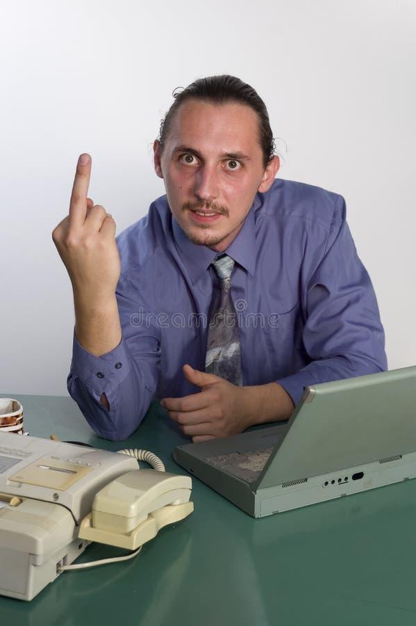 手指符号 库存图片
