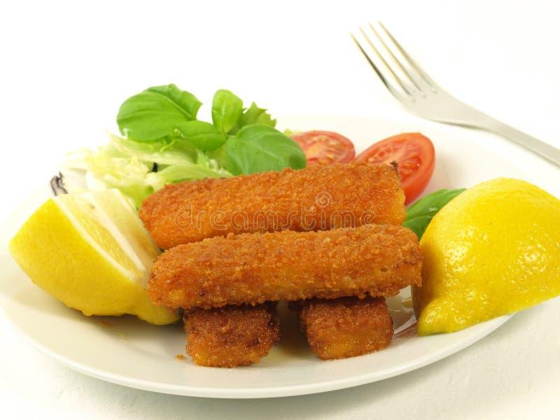 手指鱼蔬菜 库存照片