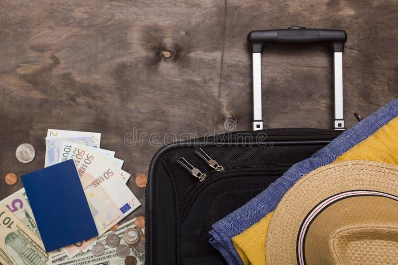 手提箱和行李商务旅游的 图库摄影