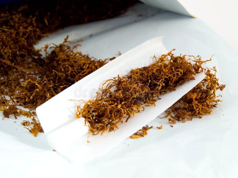 手摇的烟草 免版税库存图片
