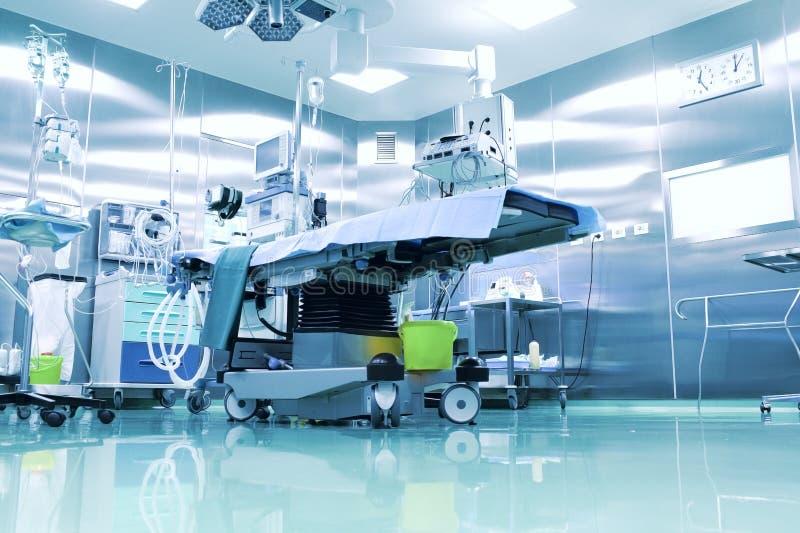 手术室用现代设备 免版税库存照片