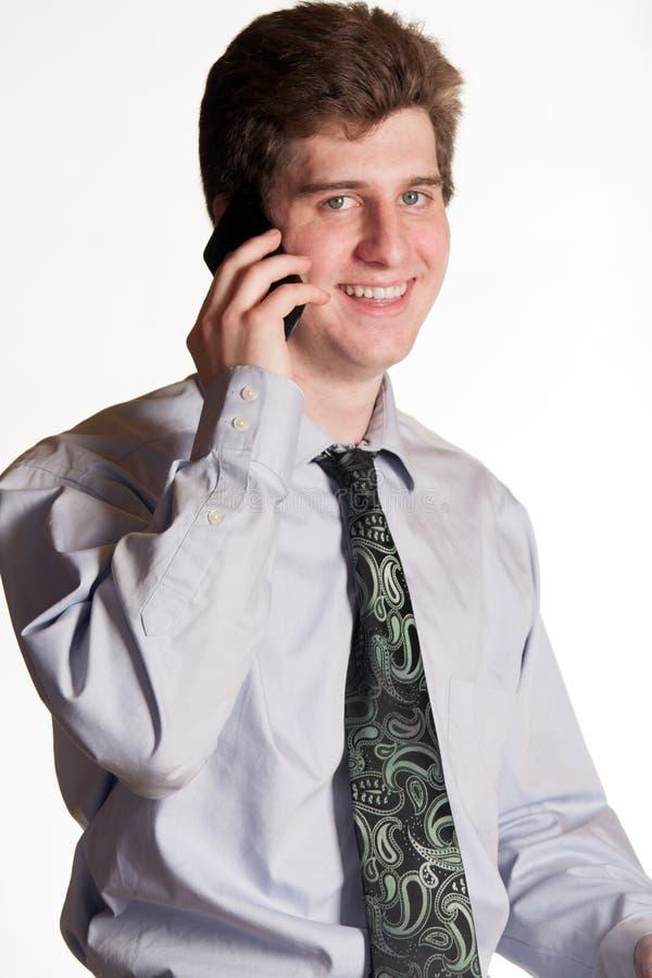 Download 手机的年轻商人 库存照片. 图片 包括有 电话, 电池, 特写镜头, 英俊, 正式, 通信, 查出, 交谈 - 30329842
