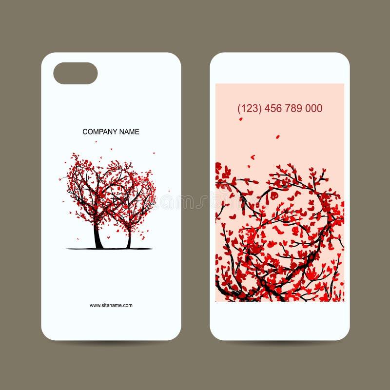 手机盖子和屏幕,爱护树木为 皇族释放例证