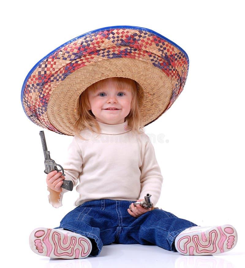 手枪小孩玩具 图库摄影
