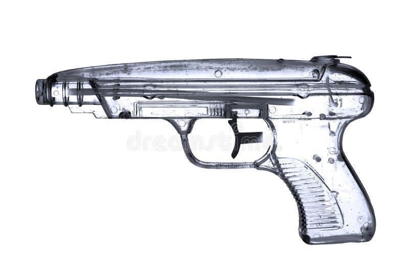 手枪水 免版税库存图片