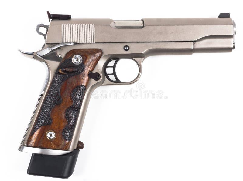 手枪端 免版税库存图片