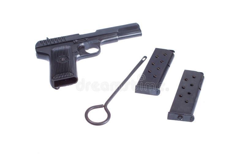 手枪苏联tokarev tt图拉 免版税图库摄影