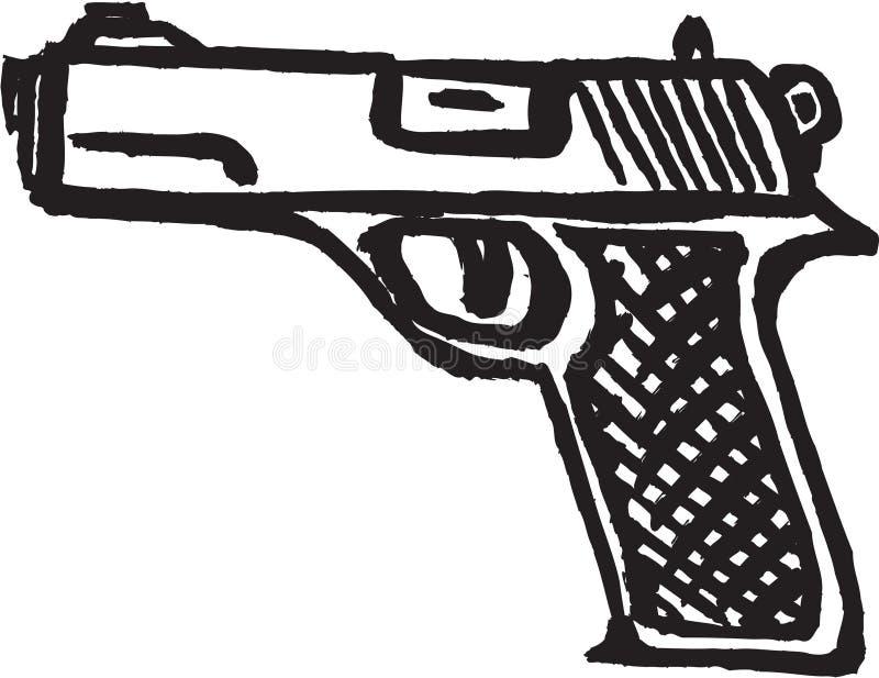 手枪 库存图片