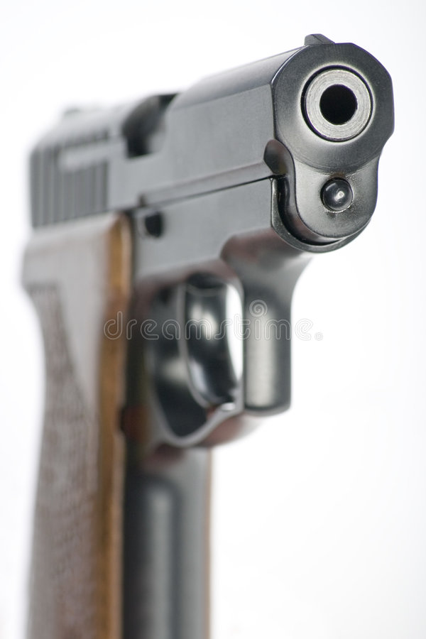 手枪 图库摄影