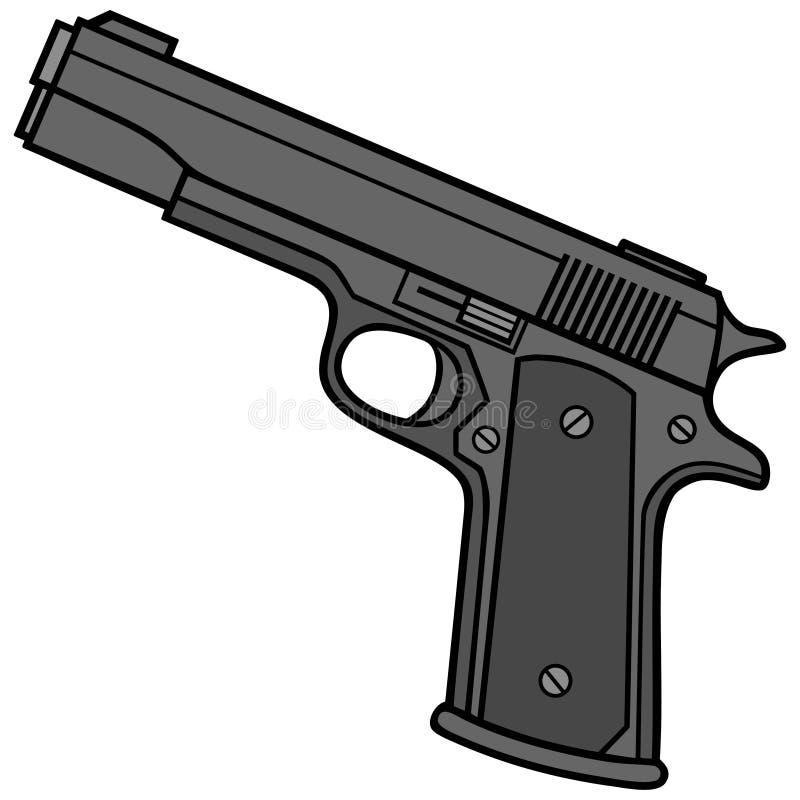 手枪 库存例证