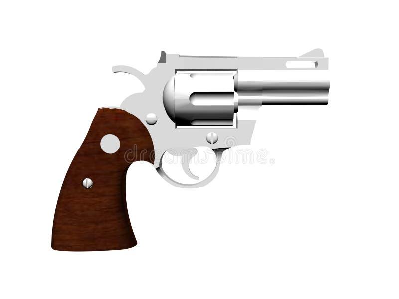 手枪Python 库存照片