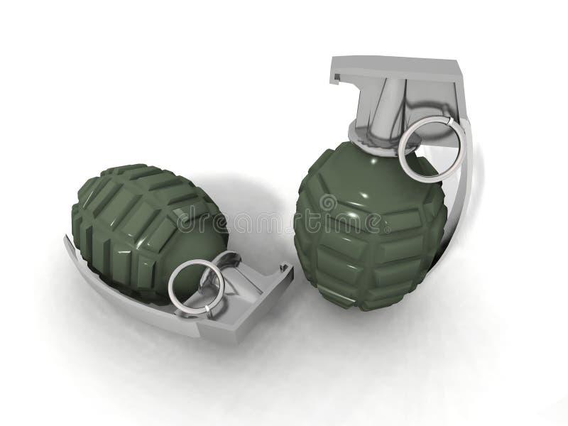 手榴弹 库存例证