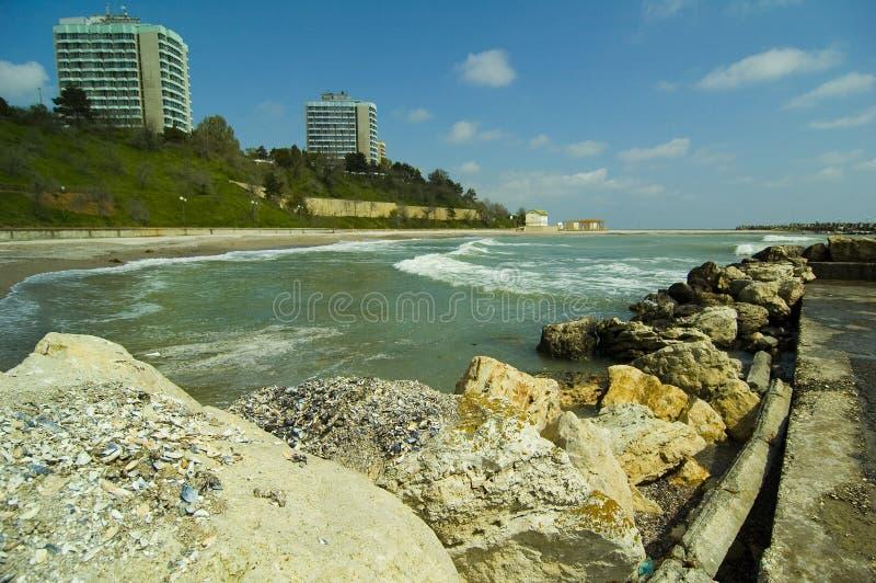 手段海岸线 库存照片