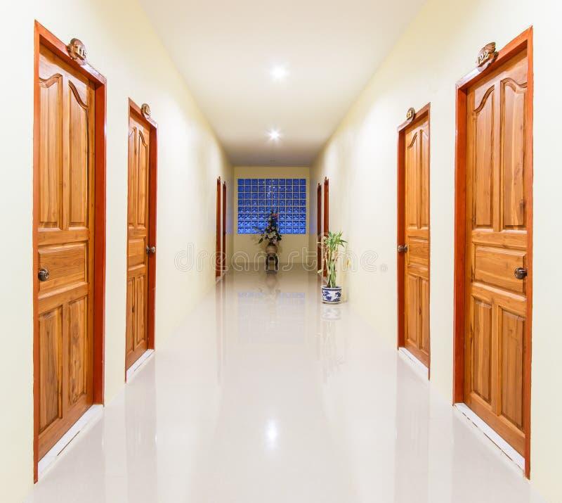 手段的走廊 库存照片