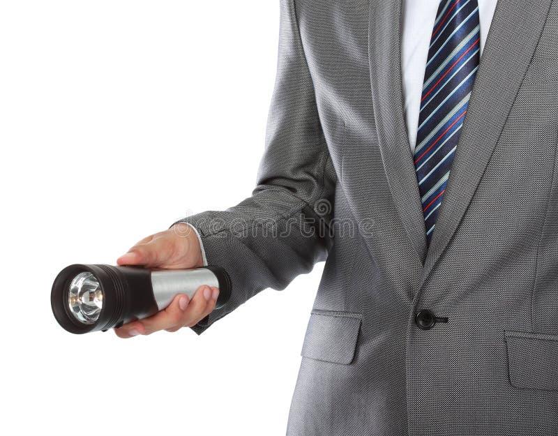 手电现有量使用 免版税图库摄影