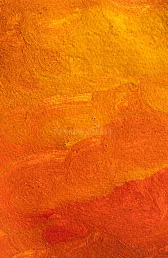 手画抽象的背景 免版税库存照片