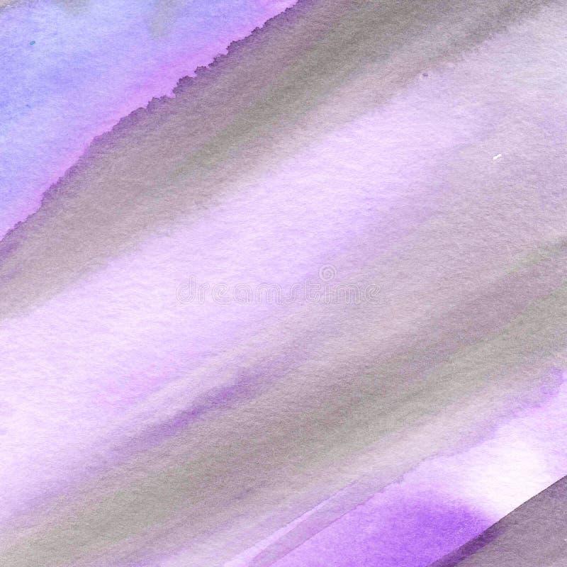 手画水彩背景 免版税库存照片