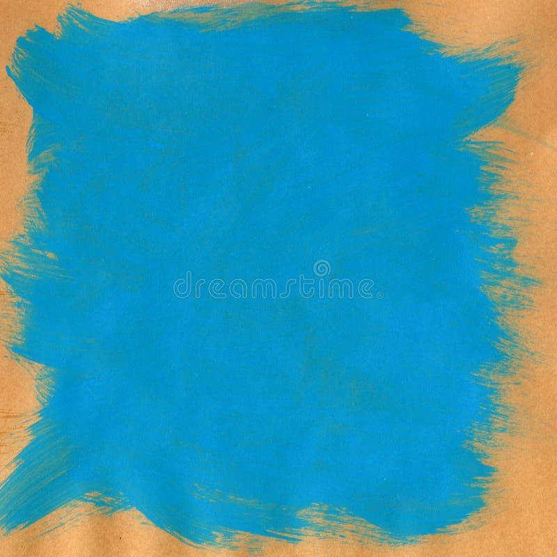 手画蓝色织地不很细背景 库存例证