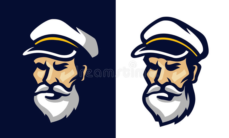 水手的画象 皇族释放例证