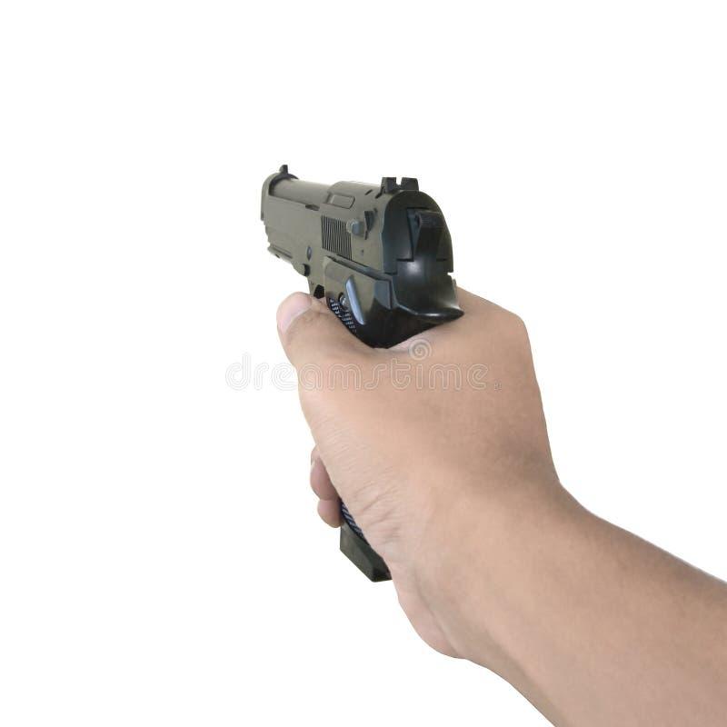 手藏品枪 库存图片